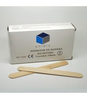 Depresor Lingual de Madera 100 uds.