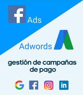 SEM, campañas de pago en Ads Google y Redes sociales