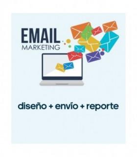 Mailling, Diseño + Envío + Reporte