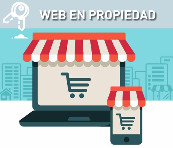 Páginas web en propiedad
