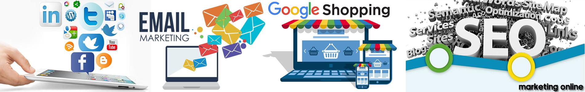 Servicios de marketing online. SEO, SEM, BLOG, REDES, MAILLINGS