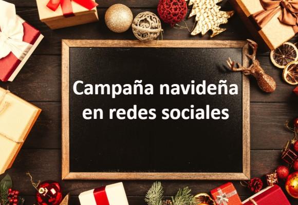 Campaña navideña en redes sociales