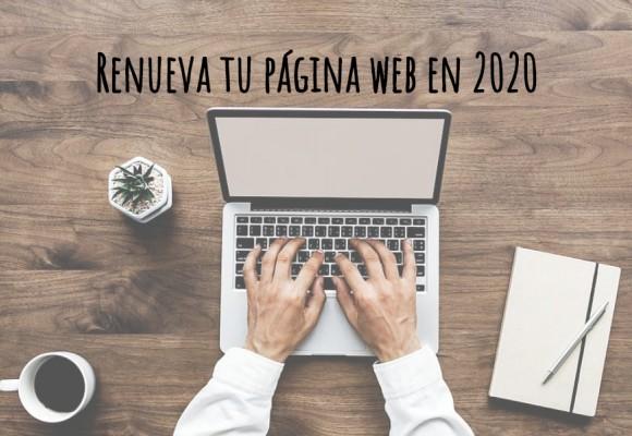 Renueva tu página web en 2020