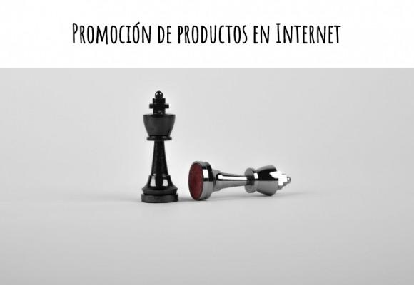 Promoción de productos en Internet
