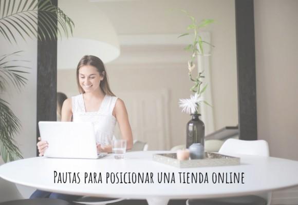 Pautas para posicionar una tienda online