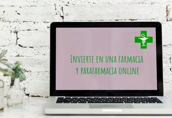 Invierte en una farmacia y parafarmacia online