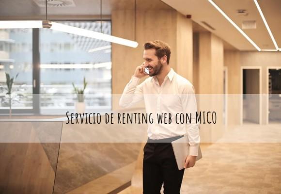 Servicio de renting web con MICO